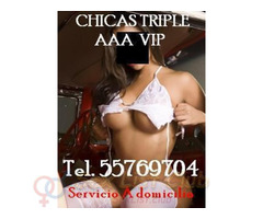 Servicio a domicilio modelos, edecanes, universitarias tel. 55769704 chicas V.I.P