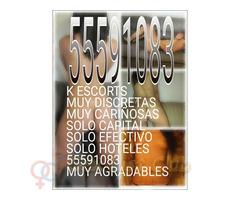 K CHICAS LINDAS SÓLO HOTELES 55591083
