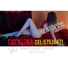 Catalina soy una chica ardiente y sensual