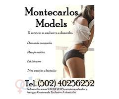 Damas de compañía a domicilio modelos AaA Tel. (502) 40256252 modelos AAA
